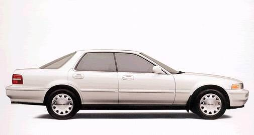 Top Consumer Rated Sedans of 1993 - 1993 Acura Vigor