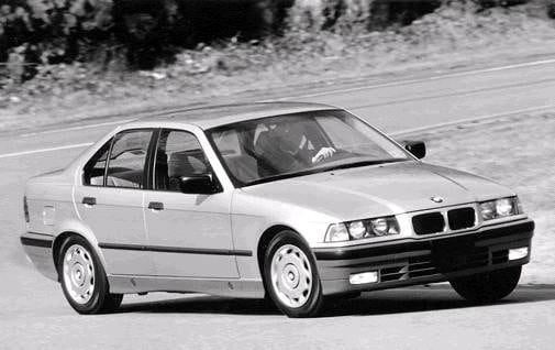 Most Popular Sedans of 1993 - 1993 BMW 3 Series