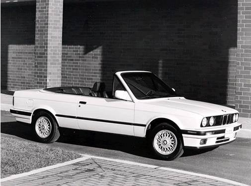 Most Popular Convertibles of 1993 - 1993 BMW 3 Series
