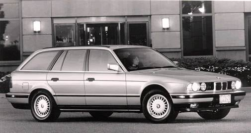 Most Popular Luxury Vehicles of 1993 - 1993 BMW 5 Series