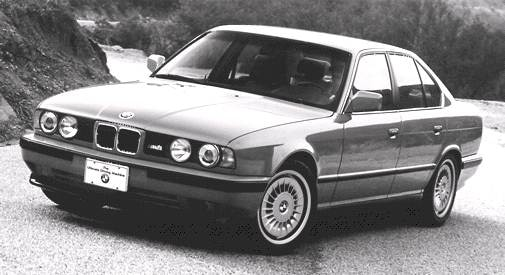 Top Consumer Rated Sedans of 1993 - 1993 BMW M5