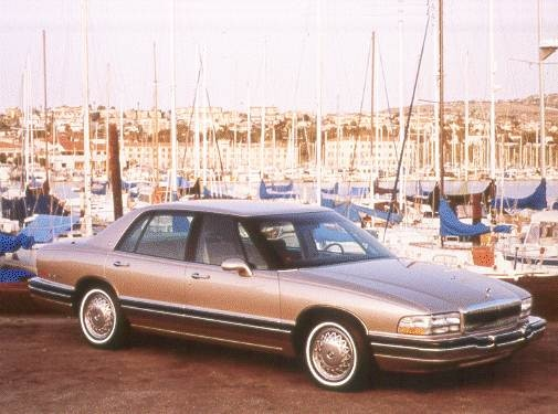 Most Fuel Efficient Luxury Vehicles of 1993 - 1993 Buick Park Avenue