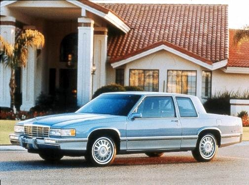 Most Popular Luxury Vehicles of 1993 - 1993 Cadillac DeVille