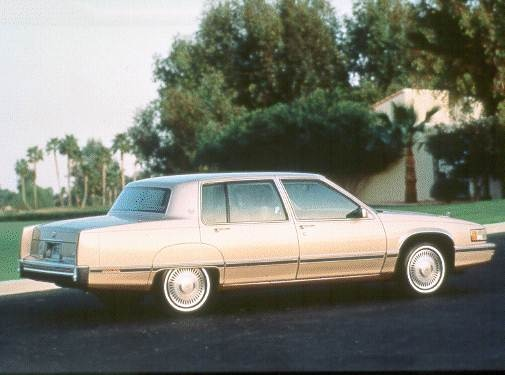 Top Consumer Rated Sedans of 1993 - 1993 Cadillac Sixty Special