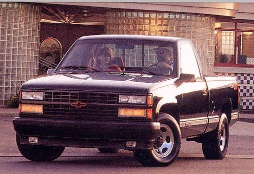 Highest Horsepower Trucks of 1993 - 1993 Chevrolet 1500 Regular Cab