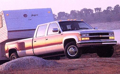 Highest Horsepower Trucks of 1993 - 1993 Chevrolet 3500 Crew Cab