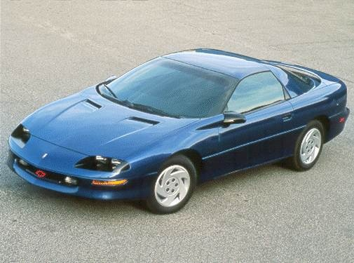 Most Popular Hatchbacks of 1993 - 1993 Chevrolet Camaro