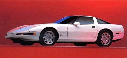 Most Popular Hatchbacks of 1993 - 1993 Chevrolet Corvette