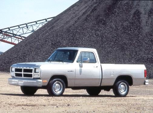 Highest Horsepower Trucks of 1993 - 1993 Dodge D150 Regular Cab