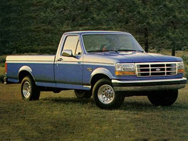 Most Popular Trucks of 1993 - 1993 Ford F150 Regular Cab