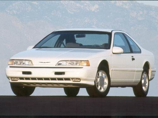 Most Popular Coupes of 1993 - 1993 Ford Thunderbird