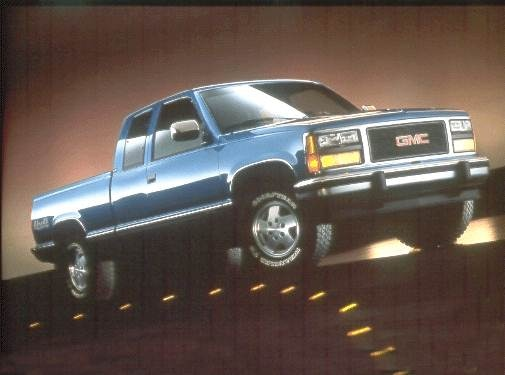 Most Popular Trucks of 1993 - 1993 GMC 1500 Club Coupe