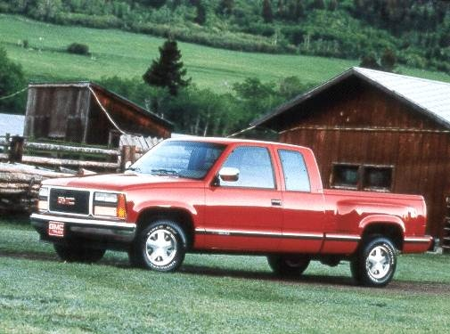 Highest Horsepower Trucks of 1993 - 1993 GMC 2500 Club Coupe