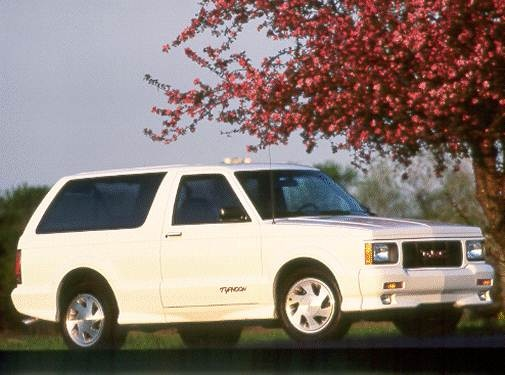 Highest Horsepower SUVS of 1993 - 1993 GMC Jimmy