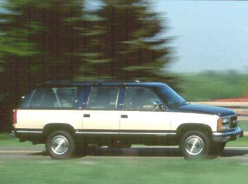 Highest Horsepower SUVS of 1993 - 1993 GMC Suburban 1500