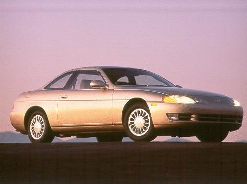Most Popular Luxury Vehicles of 1993 - 1993 Lexus SC