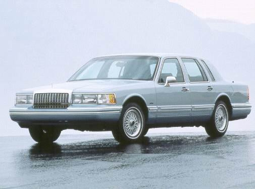 Most Popular Luxury Vehicles of 1993 - 1993 Lincoln Town Car