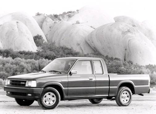 Most Fuel Efficient Trucks of 1993 - 1993 MAZDA B-Series Cab Plus