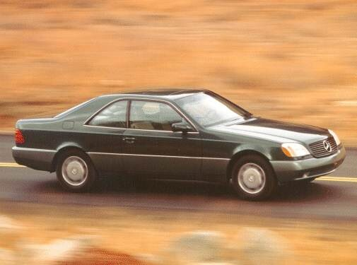 Highest Horsepower Coupes of 1993 - 1993 Mercedes-Benz 500 SEC