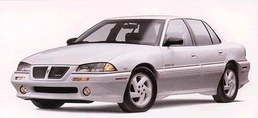 Most Popular Sedans of 1993 - 1993 Pontiac Grand Am