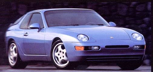 Top Consumer Rated Coupes of 1993 - 1993 Porsche 968