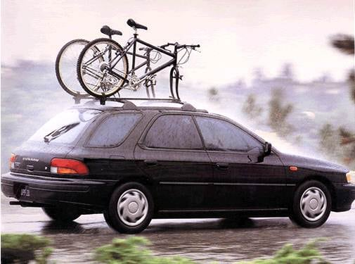 Most Popular Wagons of 1993 - 1993 Subaru Impreza