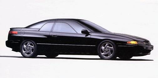 Top Consumer Rated Coupes of 1993 - 1993 Subaru SVX
