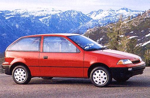 Most Fuel Efficient Coupes of 1993 - 1993 Suzuki Swift