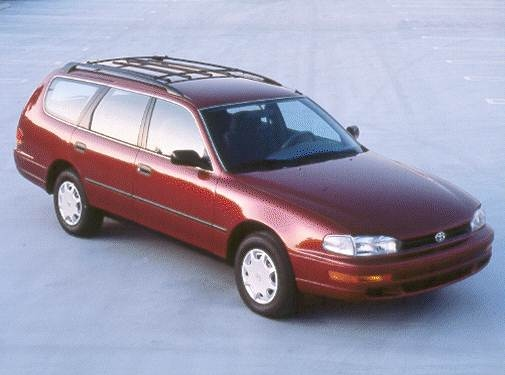 Most Popular Wagons of 1993 - 1993 Toyota Camry