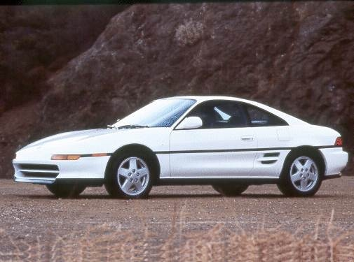 Top Consumer Rated Coupes of 1993 - 1993 Toyota MR2