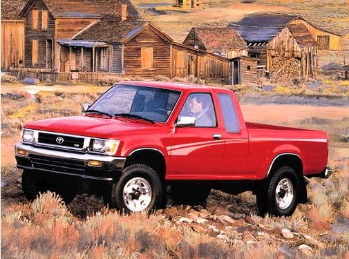 Most Popular Trucks of 1993 - 1993 Toyota Xtra Cab