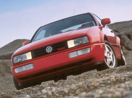 Top Consumer Rated Coupes of 1993 - 1993 Volkswagen Corrado