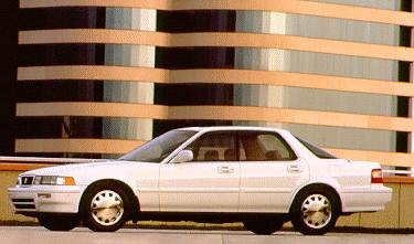 Top Consumer Rated Luxury Vehicles of 1994 - 1994 Acura Vigor
