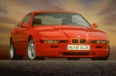 Highest Horsepower Luxury Vehicles of 1994 - 1994 BMW 8 Series