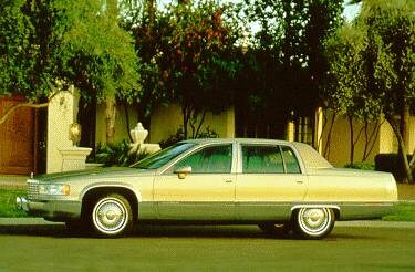 Top Consumer Rated Luxury Vehicles of 1994 - 1994 Cadillac Fleetwood