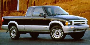 Most Popular Trucks of 1994 - 1994 Chevrolet S10 Extended Cab