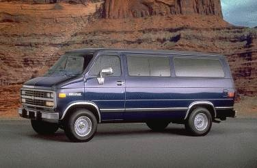 Highest Horsepower Van/Minivans of 1994 - 1994 Chevrolet Sportvan G20