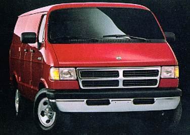 Highest Horsepower Van/Minivans of 1994 - 1994 Dodge Ram Van B350