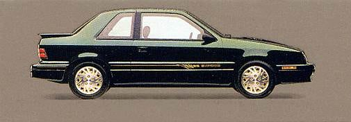 Most Fuel Efficient Hatchbacks of 1994 - 1994 Dodge Shadow