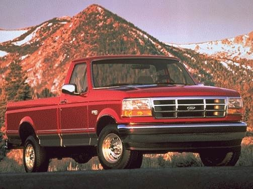 Top Consumer Rated Trucks of 1994 - 1994 Ford F250 Regular Cab