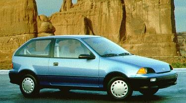 Most Fuel Efficient Hatchbacks of 1994 - 1994 Geo Metro