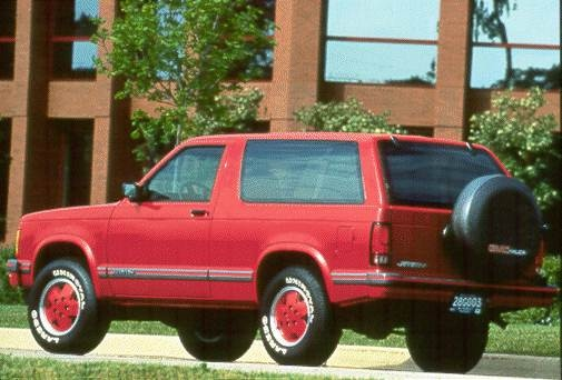 Most Fuel Efficient SUVS of 1994 - 1994 GMC Jimmy