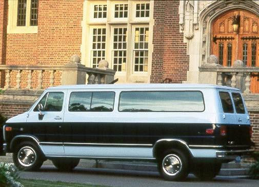 Highest Horsepower Van/Minivans of 1994 - 1994 GMC Rally Wagon 3500