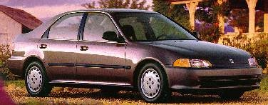 Most Fuel Efficient Sedans of 1994 - 1994 Honda Civic