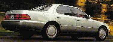 Top Consumer Rated Luxury Vehicles of 1994 - 1994 Lexus LS