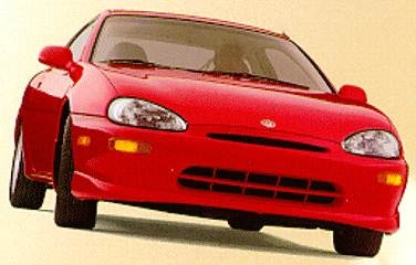 Most Fuel Efficient Hatchbacks of 1994 - 1994 Mazda MX-3