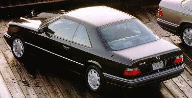 Most Fuel Efficient Luxury Vehicles of 1994 - 1994 Mercedes-Benz E-Class