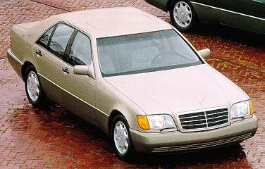 Most Fuel Efficient Luxury Vehicles of 1994 - 1994 Mercedes-Benz S-Class