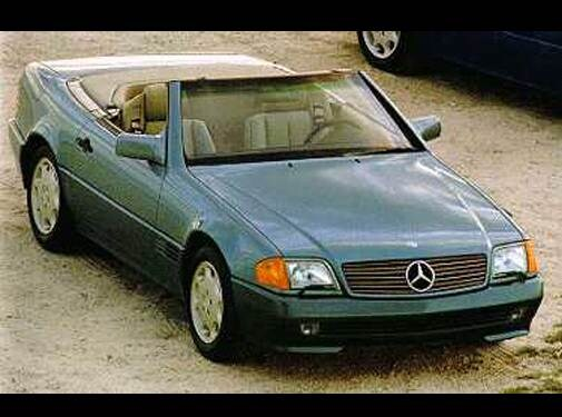 Highest Horsepower Convertibles of 1994 - 1994 Mercedes-Benz SL-Class