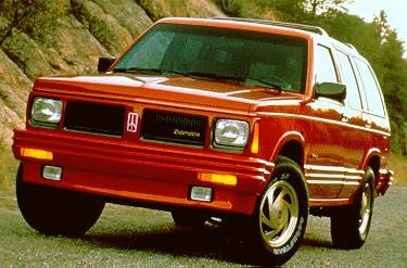 Highest Horsepower SUVS of 1994